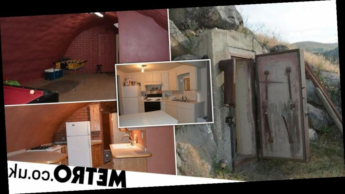 Underground doomsday bunker with four fallout shelters on sale for $1.7million