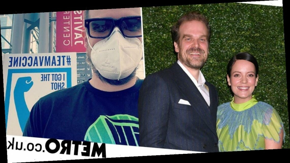 Lily Allen's husband David Harbour gets Covid vaccine on doctor's orders
