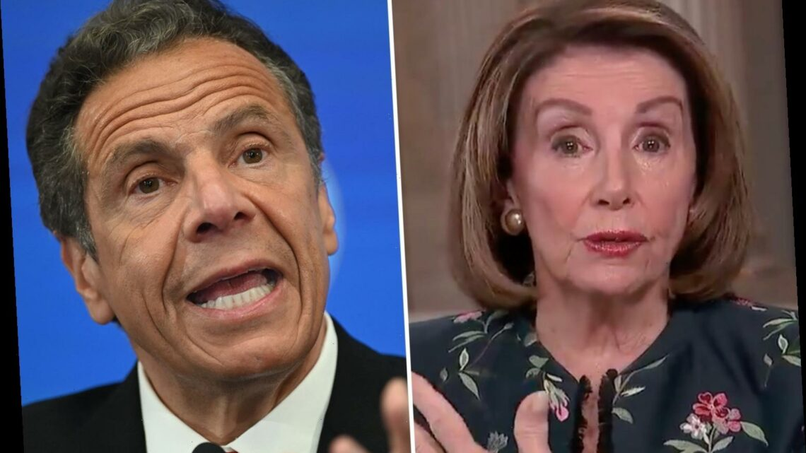 Pelosi says Cuomo sexual harassment accusers should be believed – but DOESN'T call for NY governor to resign