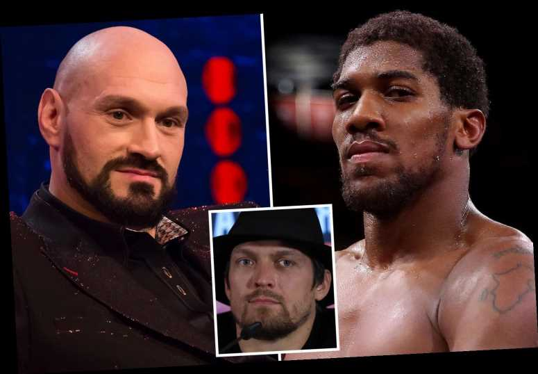 Anthony Joshua undisputed fight with Tyson Fury in doubt AGAIN as Oleksandr Usyk begs WBO to enforce mandatory shot
