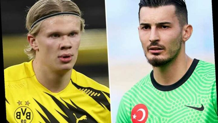 Liverpool 'scouted Erling Haaland vs Turkey'… but were more impressed by keeper who stopped Norway sensation scoring