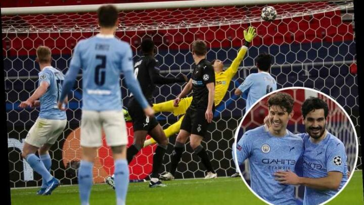 Man City 2 Monchengladbach 0: De Bruyne stunner seals last-eight spot for fifth year in row as Pep chases elusive crown