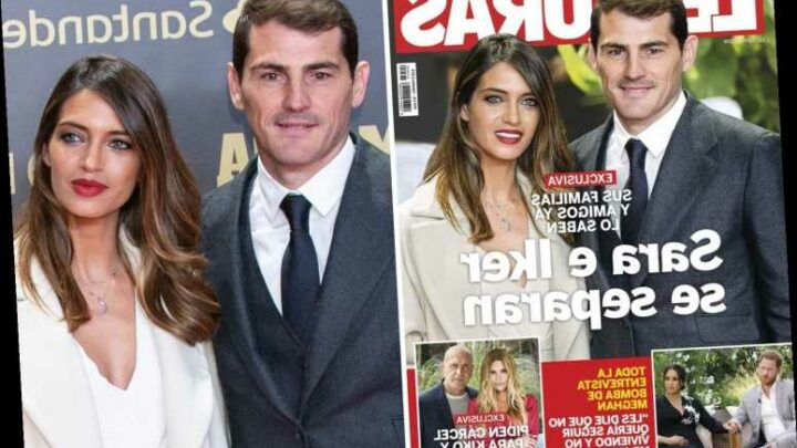 Real Madrid legend Iker Casillas and wife Sara Carbonero deny claims they have split after 12 years together
