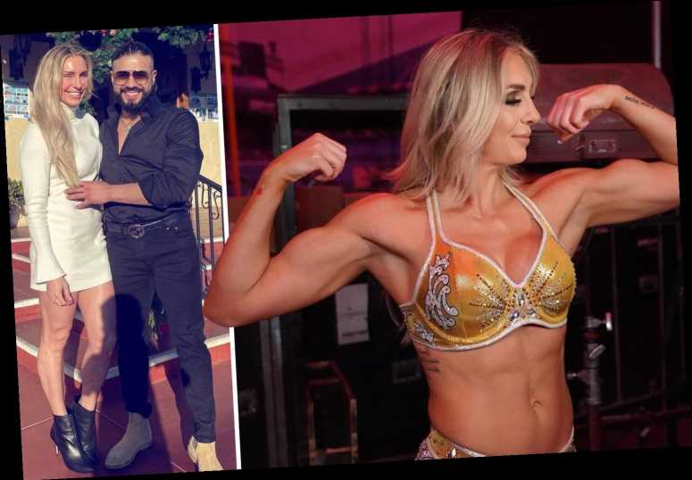 WWE's Charlotte Flair free for WrestleMania & is NOT pregnant after fiance Andrade's comments were 'lost in translation'