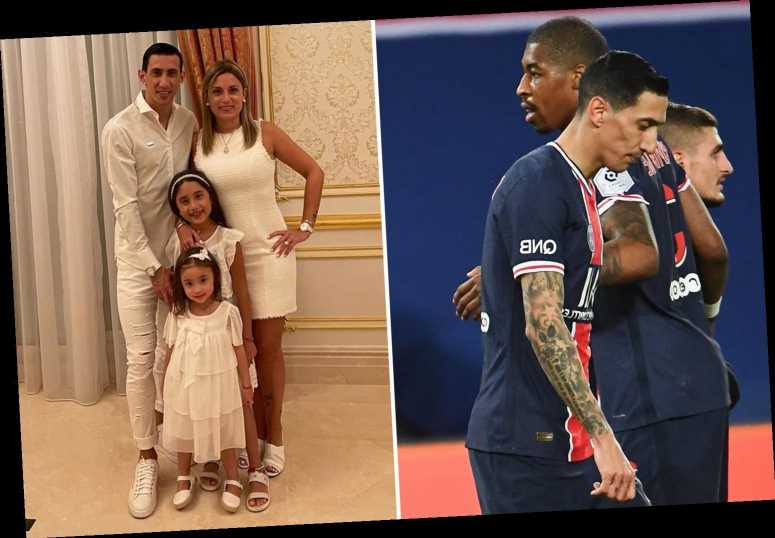 Angel Di Maria's 'home burgled and family held hostage' during PSG game as ace is subbed and leaves stadium immediately