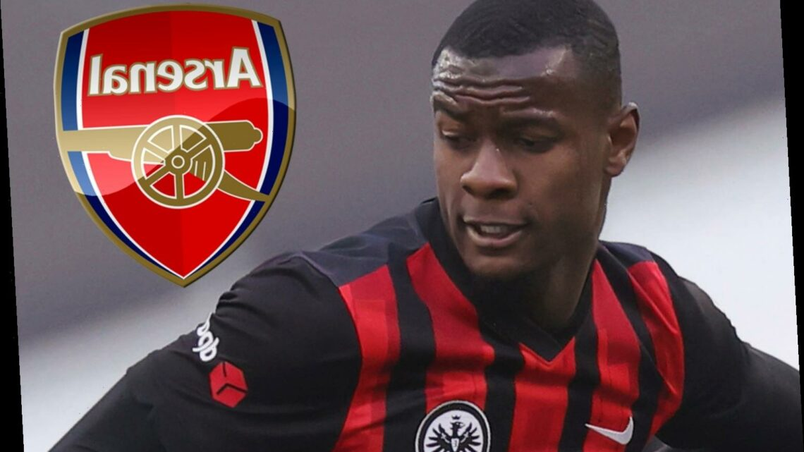 Arsenal 'hold transfer talks with £19m Eintracht Frankfurt defender Evan N'Dicka's entourage' with Chambers set for exit