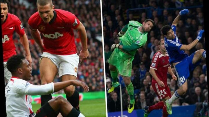 Foster brands Diego Costa 'filthy rat', calls Man Utd icon Vidic a 'sicko' and says Tevez 'was a shambles in training'