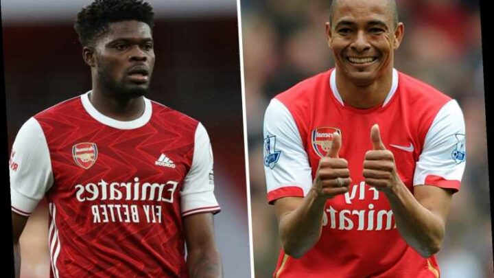 Silva calls Thomas Partey Arsenal's best defensive midfielder since himself and hails him for 'making Xhaka look better'