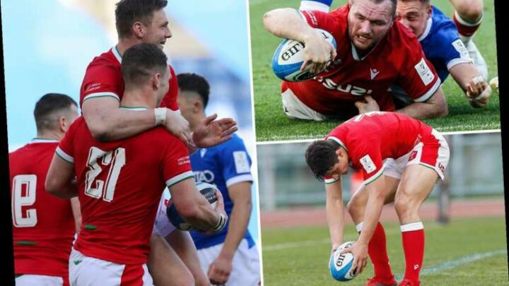 Italy 7 Wales 48: Rampant visitors run in SEVEN tries to continue charge to Six Nations Grand Slam crown