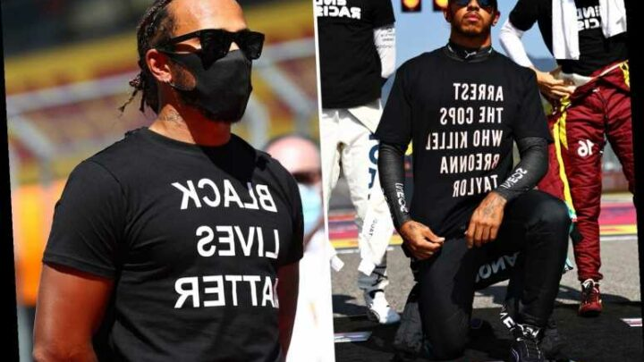 Lewis Hamilton will be allowed to continue anti-racism stance and highlight Black Lives Matter by F1 chiefs