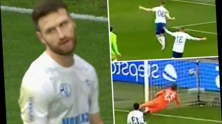 Watch Arsenal flop Shkodran Mustafi score comedy own goal in 5-0 defeat leaving Schalke winless in five since he joined