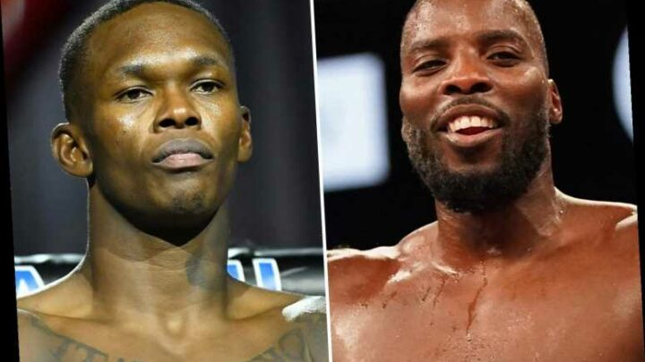 Lawrence Okolie celebrates world title win with bath after UFC hero Israel Adesanya slides into DMs to congratulate him