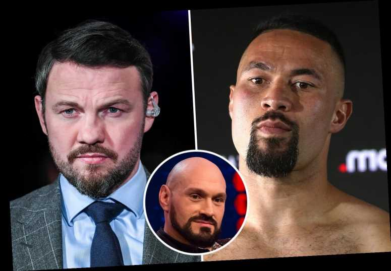 Joseph Parker teams up with Tyson Fury's coach Andy Lee after Gypsy King personally recommends trainer to rival