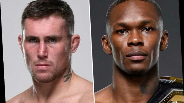 Israel Adesanya reveals only middleweight UFC fight he wants is Darren Till in UK and says 'get your s*** together'