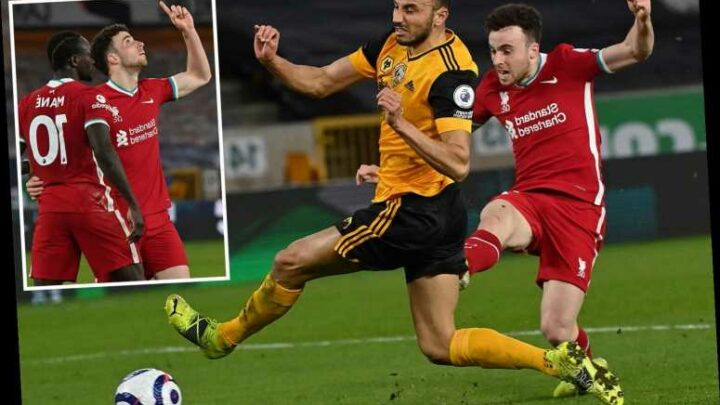 Wolves 0 Liverpool 1: Diogo Jota scores winner past old club as Reds receive much-needed top-four boost