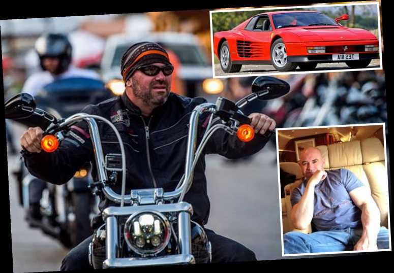 Dana White's stunning car collection features a £210k Ferrari, £20k custom-made Harley and a Bombardier jet – The Sun