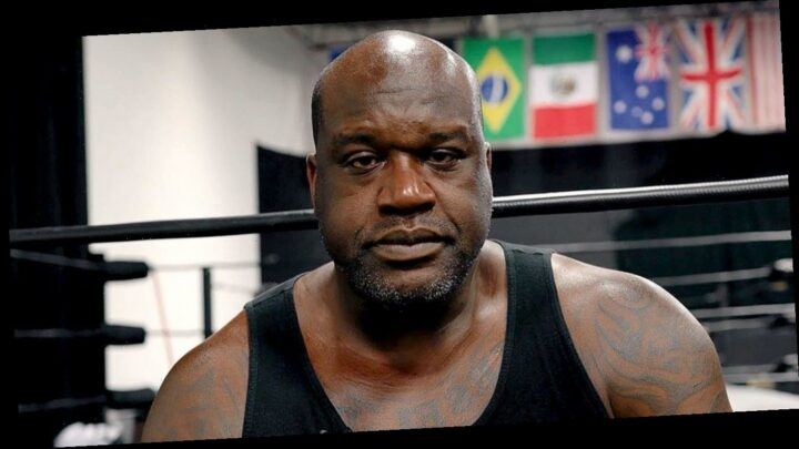 Shaquille O'Neal Is Ready for a 'Challenge' in AEW Match