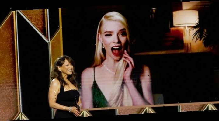 Anya Taylor-Joy Wins First Golden Globe for 'The Queen's Gambit'!