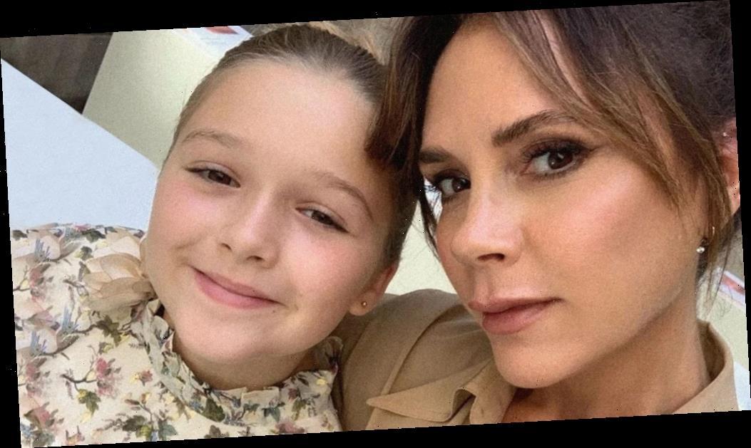 Victoria Beckham Gets a Glam Makeover From Daughter Harper!