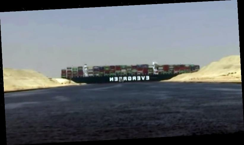 Evergreen ship stuck in Suez Canal imperils shipping worldwide