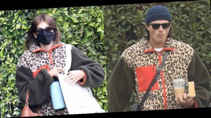 Kaia Gerber & Boyfriend Jacob Elordi Wore the Same Jacket This Week!