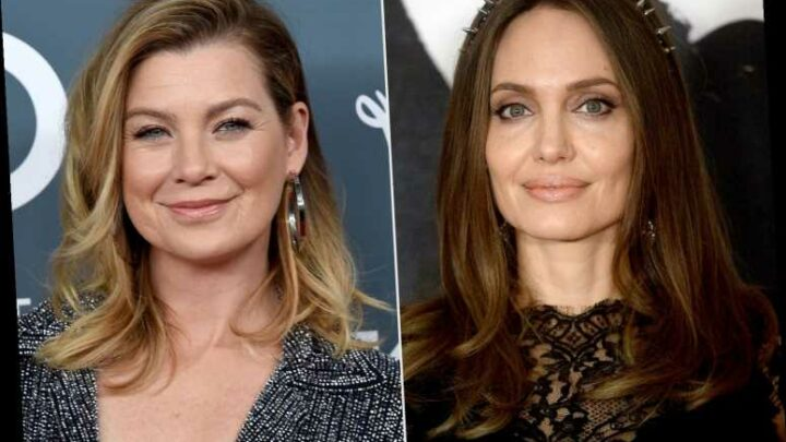 Angelina Jolie and Ellen Pompeo Grab Dinner Together: 'Their Daughters Are Good Friends,' Says Source