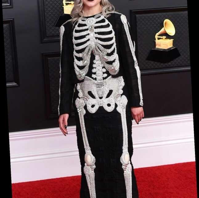 Phoebe Bridgers Jokes She 'Basically Stole' Her 2021 Grammys Skeleton Dress