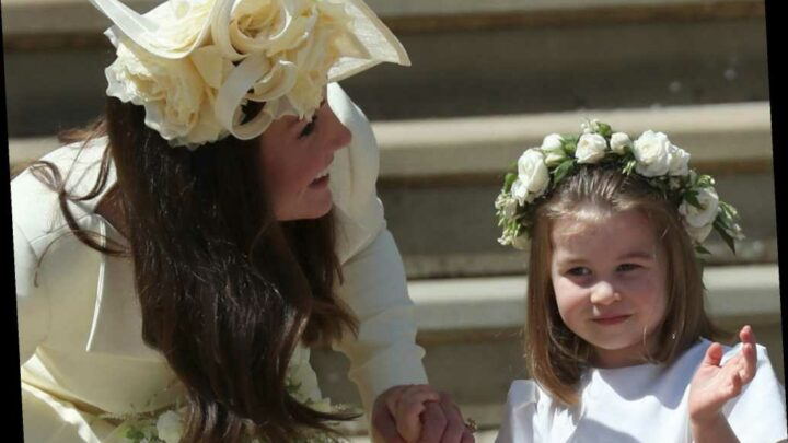 The flower girl dresses behind Meghan Markle's tearful talk with Kate Middleton