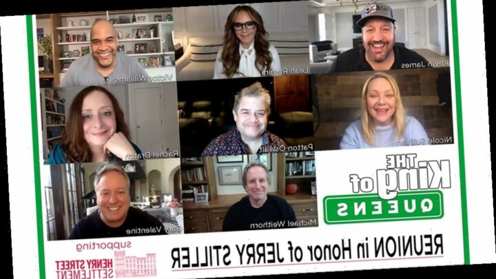 Kevin James, Leah Remini Reunite For 'The King of Queens' Charity Table Read In Honor Of Jerry Stiller