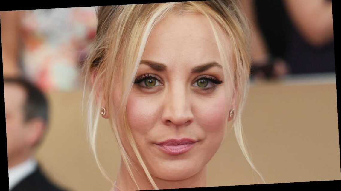Kaley Cuoco Has A Hilarious Response To Losing At The Golden Globes