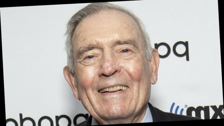 The Truth About Dan Rather's Relationship With Donald Trump