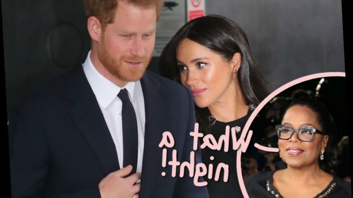 The Internet Reacts To Meghan Markle & Prince Harry's Bombshell Oprah Interview!