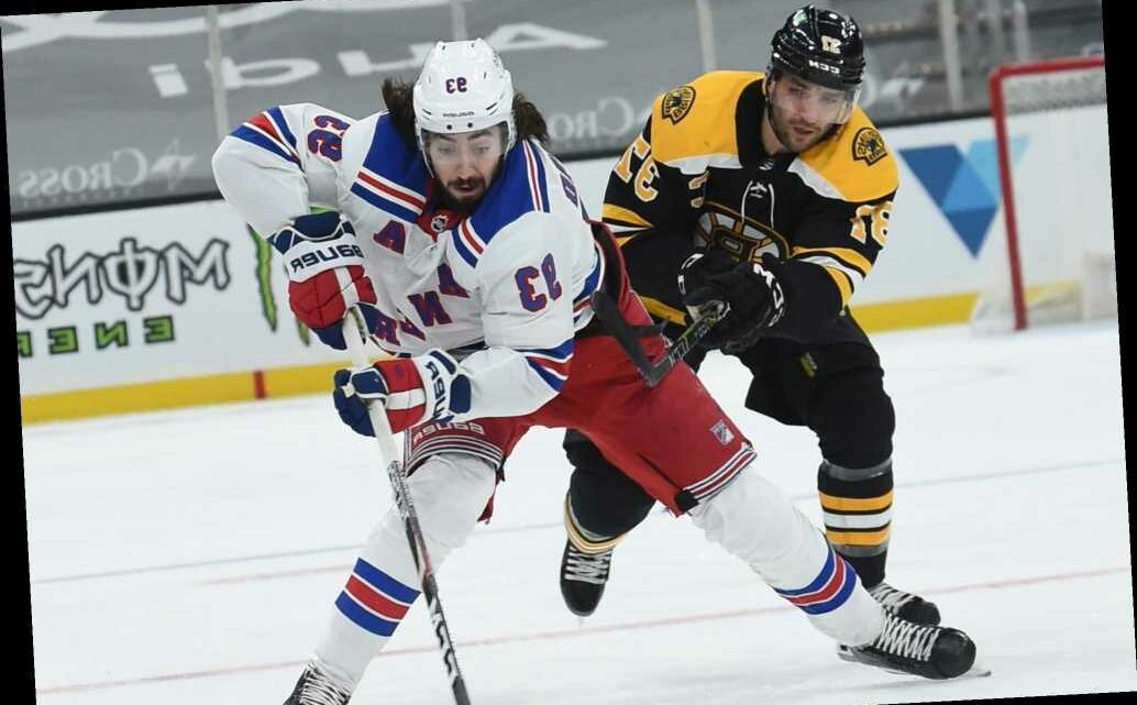 Rangers' struggles continue in shutout loss to Bruins