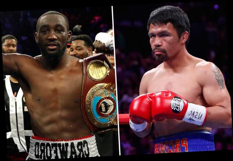 Manny Pacquiao in talks to fight Terence Crawford aged 42 on 5 June in huge Abu Dhabi PPV for world title
