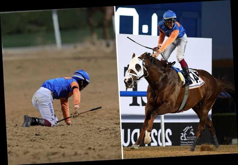 Racing tragedy as 50-1 winner Zenden suffers fatal injury seconds after passing post in £650,000 Dubai Golden Shaheen