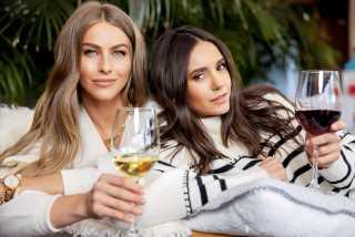 Nina Dobrev and Julianne Hough Launch Wine Company
