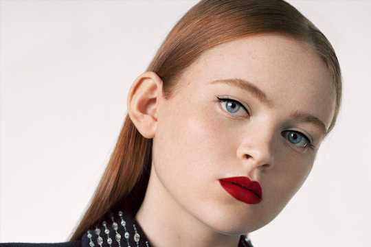 Sadie Sink Fronts Givenchy Lipstick Campaign