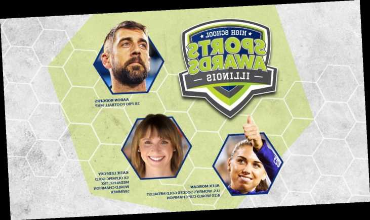 Aaron Rodgers, Alex Morgan, Katie Ledecky among announcers for Illinois High School Sports Awards