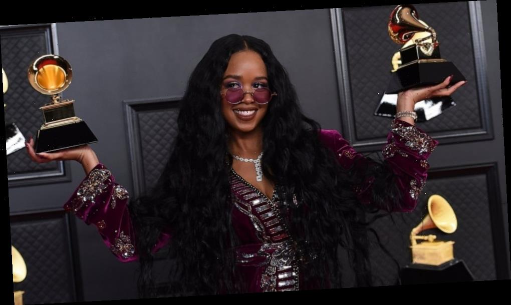 After top Grammy win, singer H.E.R. is heading to the Oscars