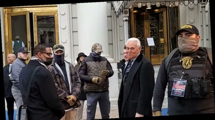 Authorities arrest Oath Keeper seen with Trump adviser Roger Stone on morning of insurrection