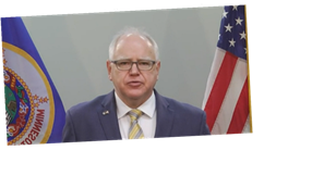 Minnesota Governor Tim Walz announces major rollback of COVID-19 restrictions