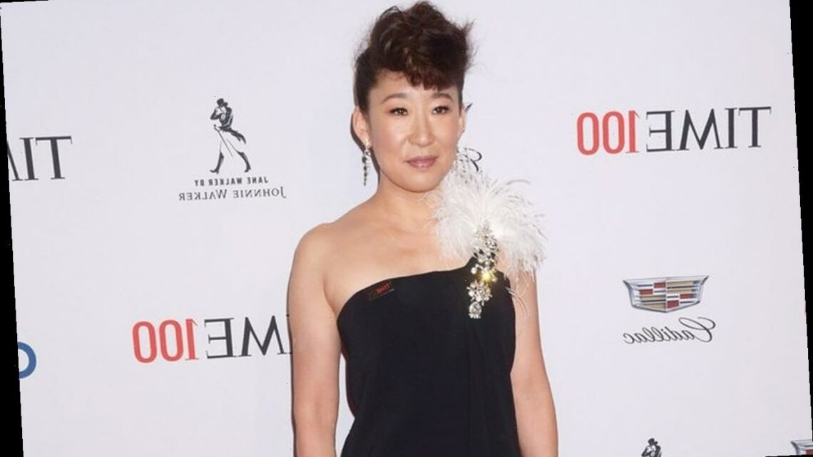 Sandra Oh Attends Stop Asian Hate Rally Following Atlanta Deadly Shootings