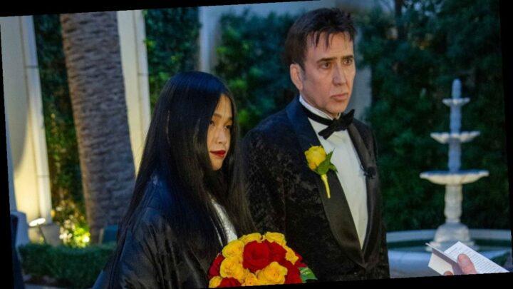 Inside Nicolas Cage and Riko Shibata's Las Vegas Wedding: PICS
