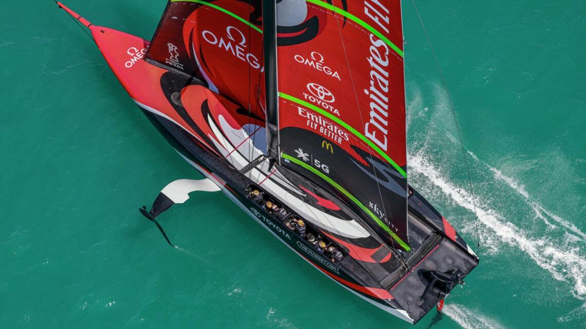 America's Cup 2021: Team New Zealand boat described as 'scary' by eliminated challengers Ineos Team UK