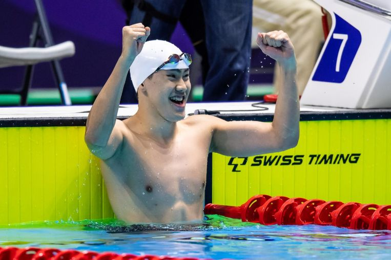Aquatics: SEA Games 100m free champion Chua on track to defend title after hitting 'A' timing