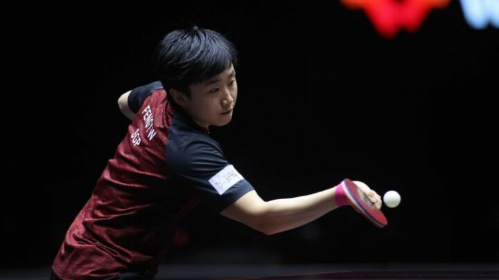 Table tennis: Feng ends three-match losing run with victory over South Korean Lee in Doha