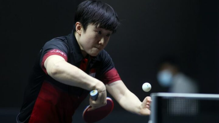 Table tennis: Feng storms into 1st final in almost four years with win over Samara in Doha