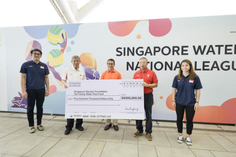 Water polo: Tan Eng Liang & family donate $500,000 to start fund to develop the sport