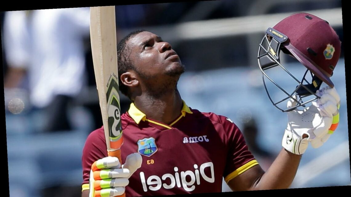 West Indies clinch ODI series win as Evin Lewis hits hundred in second ODI against Sri Lanka