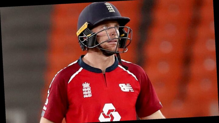 Jos Buttler scores 83 not out as England beat India to take 2-1 lead in five-match T20 series